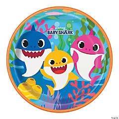 Baby Shark Paper Dinner Plates - 8 Ct.