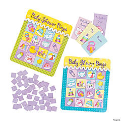 """Baby Shower Bingo"" Game"