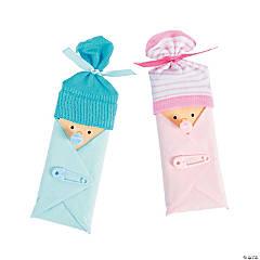 baby shower candy bar favor idea
