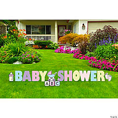 Baby Shower Yard Sign Kit