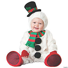Baby Silly Snowman Costume - 6-12 Months