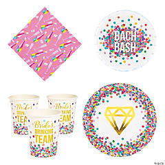 Bachelorette Bash Tableware Kit for 24 Guests