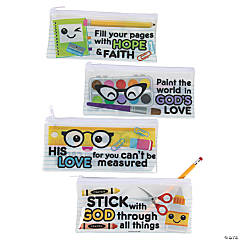 Back to School Religious Pencil Cases