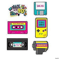 Back to the 90s Cutouts