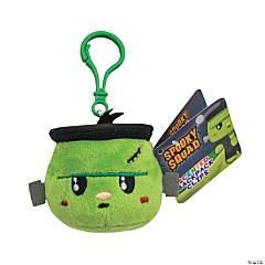 Backpack Buddies Stuffed Green Monster Backpack Clip Keychain