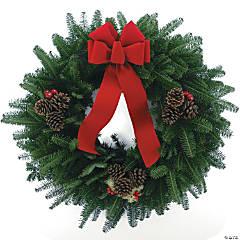 Balsam Deluxe Fresh Wreath