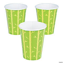 Bamboo Panda Party Cups