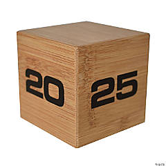Bamboo TimeCube 5-10-20-25 Minute Timer