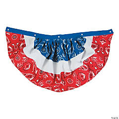 Bandana Patriotic Bunting