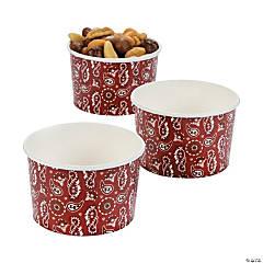 Bandana Snack Bowls