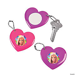 Barbie™ Sparkle Mirror Keychains