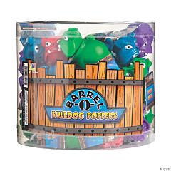 Barrel-O'-Bulldog Pop-Out Squeeze Toys
