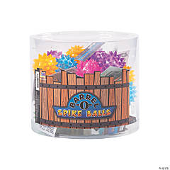 Barrel-O'-Light-Up Spike Balls