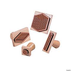 Base Ten Wooden Stamp Set