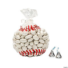Baseball Cellophane Bags