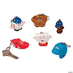 Baseball Character Keychains
