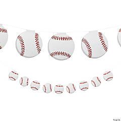 Baseball Garland