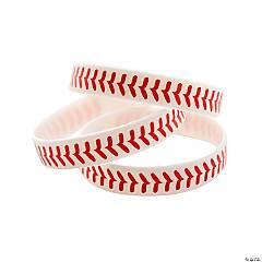 Baseball Rubber Bracelets