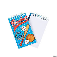 Baseball Spiral Notepads