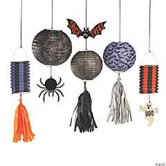 Basic Boo Hanging Paper Lanterns