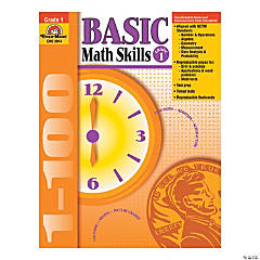 Basic Math Skills Book, Teacher Reproducibles, Grade 1