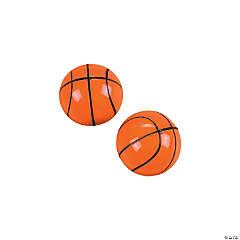 Basketball Bouncy Balls - 12 Pc.