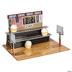 Basketball Court Treat Stand
