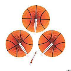 Basketball Folding Hand Fans