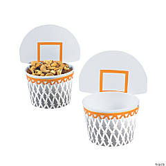 Basketball Paper Snack Cups