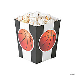 Basketball Popcorn Boxes