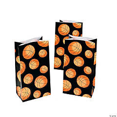 Basketball Treat Bags