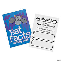 Bat Facts Activity Books