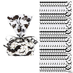 Bat Print Cellophane Bags