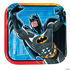 Batman™ Paper Dessert Plates - 8 Ct.