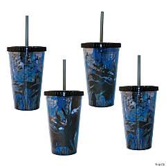 Batman™ Tumblers with Lid & Straw