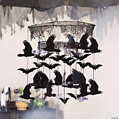Bats & Ravens Mobile Halloween Decoration