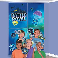 Battle Royal Scene Setter with Photo Stick Props