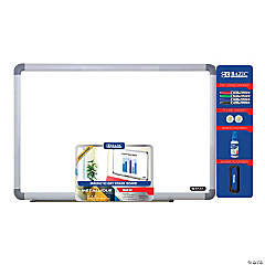 Bazic® Aluminum Frame Magnetic Dry Erase Board Value Pack, 24