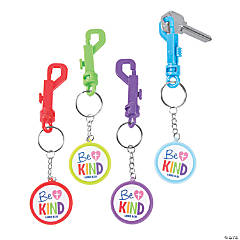 Be Kind Backpack Clip Keychains