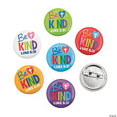 Be Kind Mini Buttons