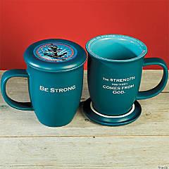 Be Strong Mug & Coaster