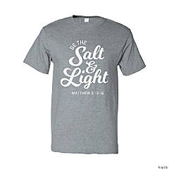 Be The Salt & Light Adult's T-Shirt - Medium