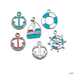 Beach Nautical Charms