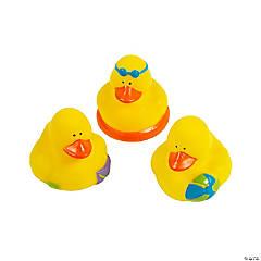 Beach Rubber Duckies