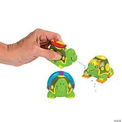 Beach Turtle Squirt Toys