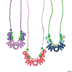 Beaded #1 Mom Necklace Craft Kit