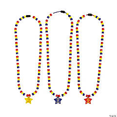 Beaded 100th Day of School Necklace Craft Kit