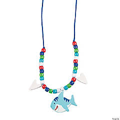 Beaded Shark Necklace Craft Kit