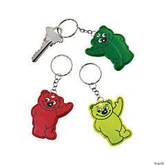 Bear Reflective Keychains