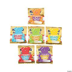 Beary Kind Haribo<sup>®</sup> Gummi-Bear<sup>®</sup> Mini Packs & Stickers - 35 Pc.
